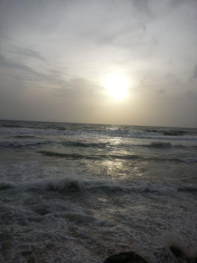 Galle hace frente al mar 001 foto de archivo libre de regalías
