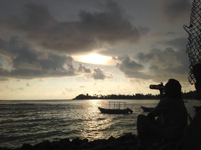 Galle plaża zdjęcia royalty free