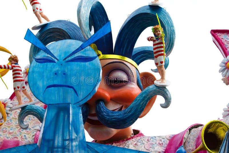 Galleggiante Di Carnevale Fotografia Editoriale