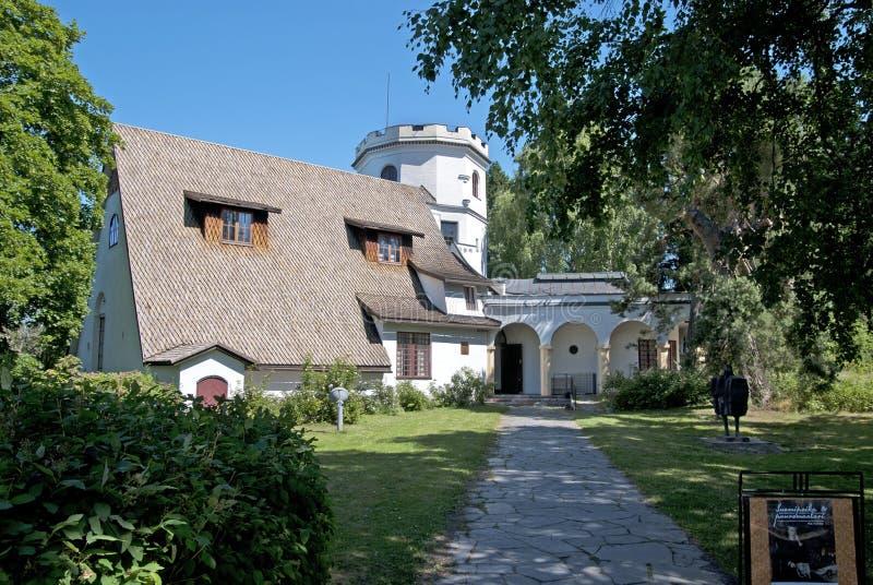 Gallen-Kallela muzeum. Espoo. Finlandia obrazy stock