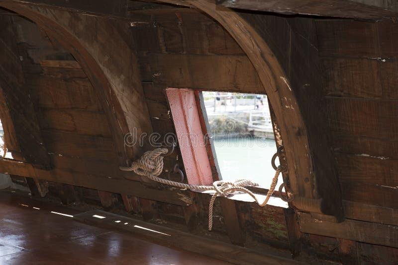 galleon海王星 免版税库存照片