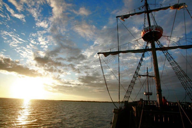 Galleon royalty free stock photo