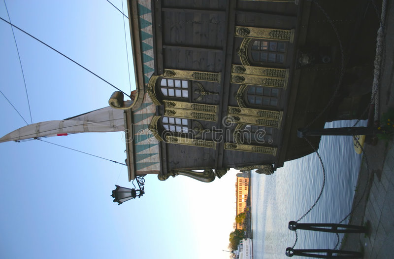 Galleon fotografia stock
