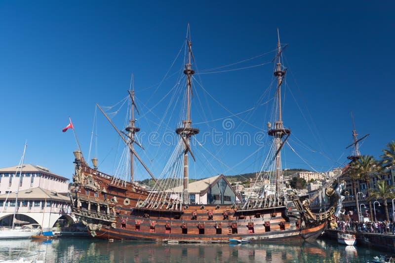Galleon di Olg immagini stock libere da diritti