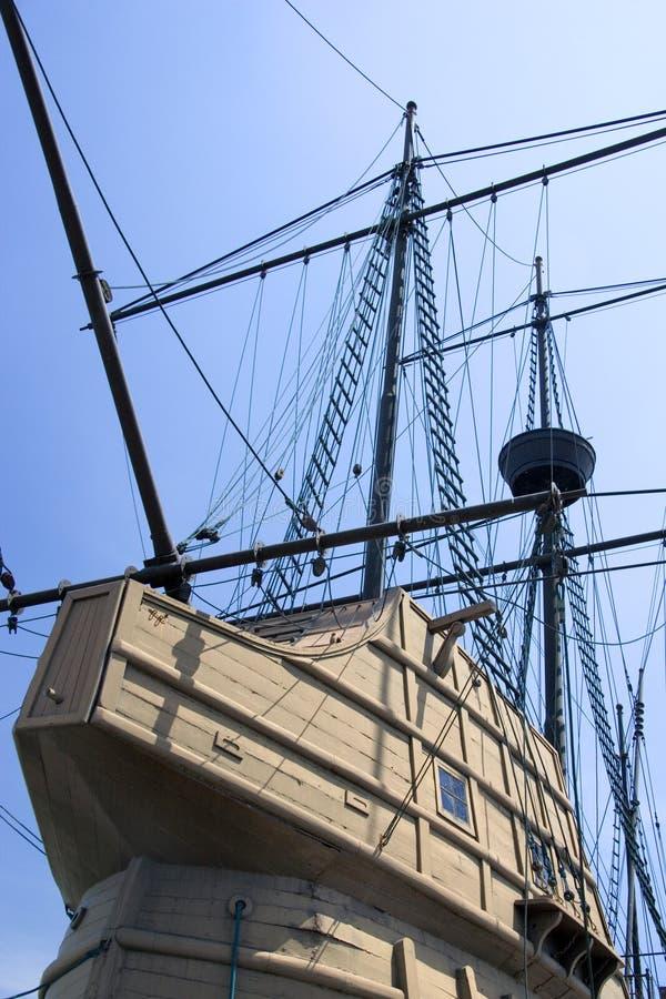 Galleon português fotografia de stock royalty free