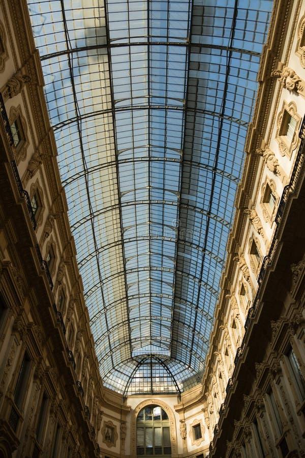 galleria ΙΙ του Emanuele vittorio της Ιταλίας Μ στοκ φωτογραφία με δικαίωμα ελεύθερης χρήσης