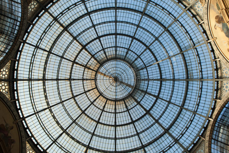 galleria ΙΙ του Emanuele vittorio της Ιταλίας Μ στοκ φωτογραφίες με δικαίωμα ελεύθερης χρήσης