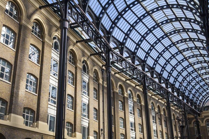Galleria σανού στο Λονδίνο στοκ φωτογραφίες