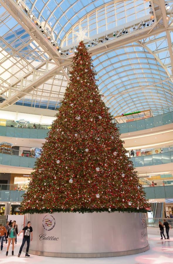 Galleria Даллас - декабрь 2013 стоковое фото rf