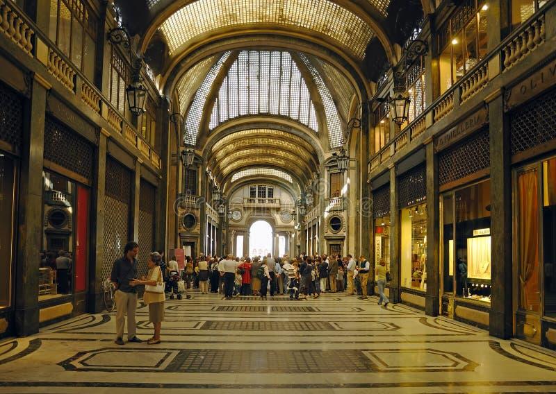 Galleria Сан Federico построенный в 1932 стоковое изображение