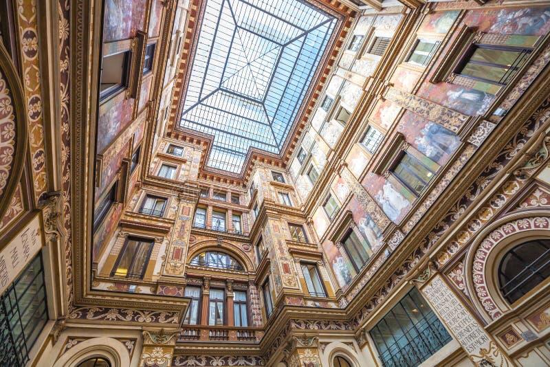 Galleria Alberto Sordi Ρώμη στοκ φωτογραφία