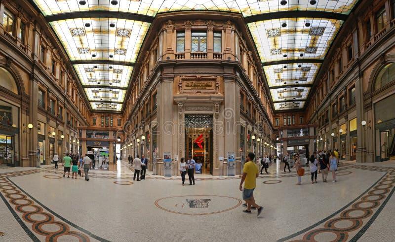 Galleria Alberto Sordi immagini stock