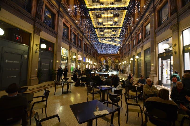 Galleria Alberto Sordi, restaurant, café, interior design, coffeehouse stock photos