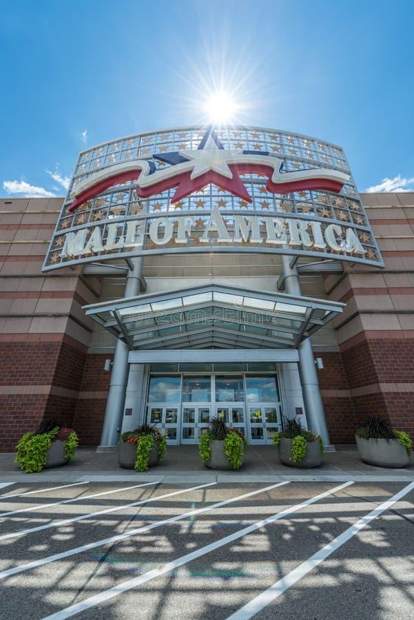 Galleria av Amerika den huvudsakliga ingången royaltyfri foto