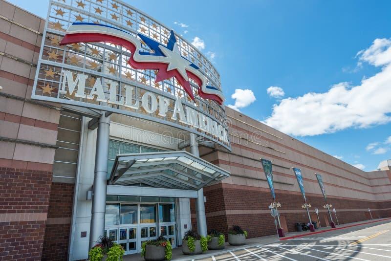 Galleria av Amerika den huvudsakliga ingången royaltyfria foton