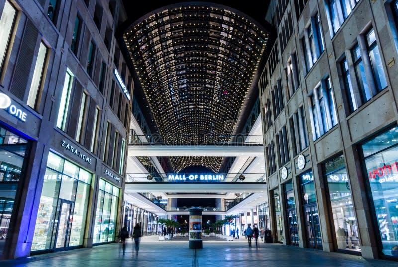 Galleria av Berlin royaltyfria bilder