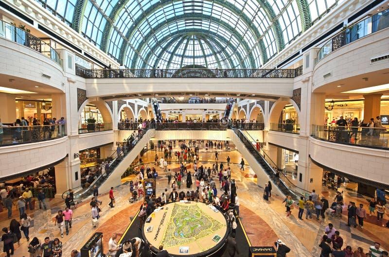 Galleria av emiratesna royaltyfri fotografi
