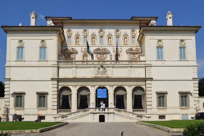 Galleria Borghese della villa fotografia stock libera da diritti