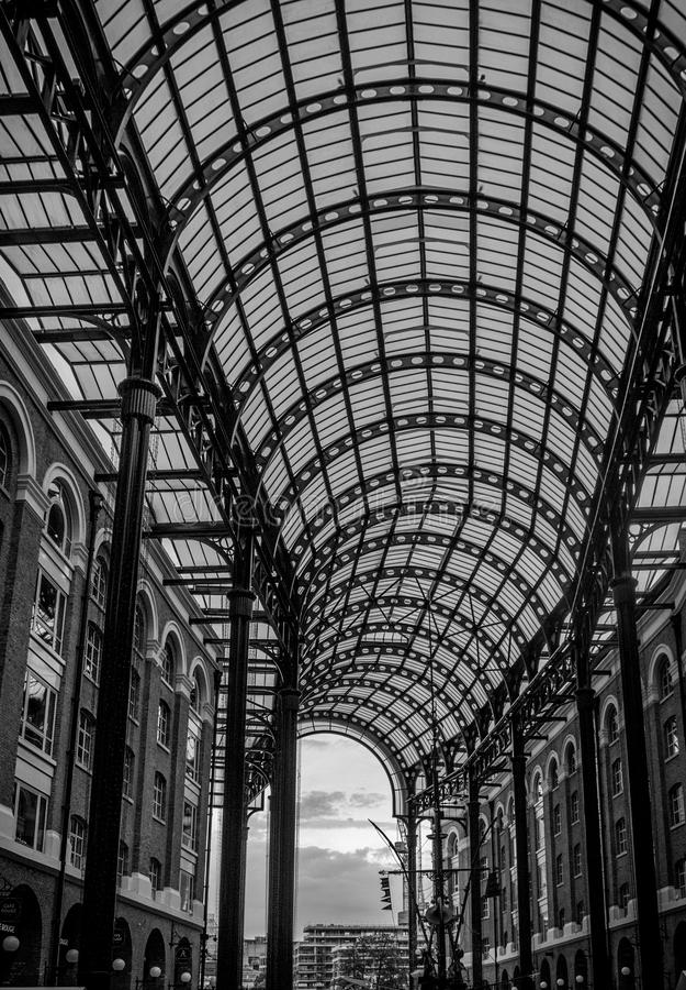 Galleria del ` s del heno fotos de archivo