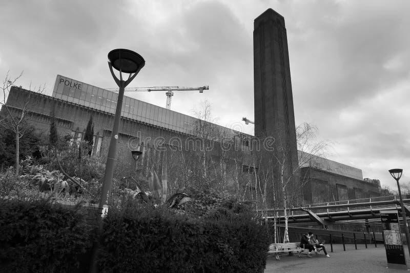 Galleria del Tate Modern, Londra fotografie stock libere da diritti