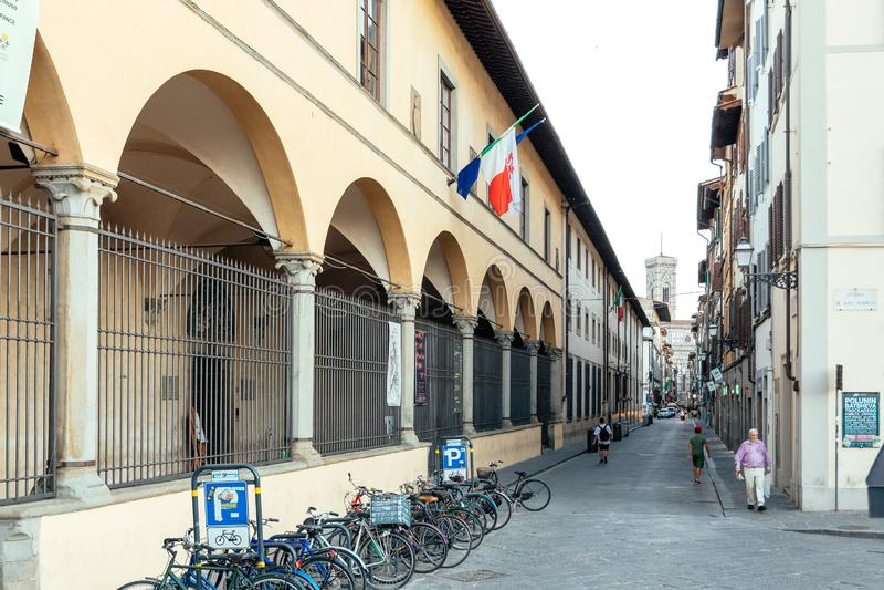 Galleria dell`Museum, Firenze, Florencja zdjęcia royalty free