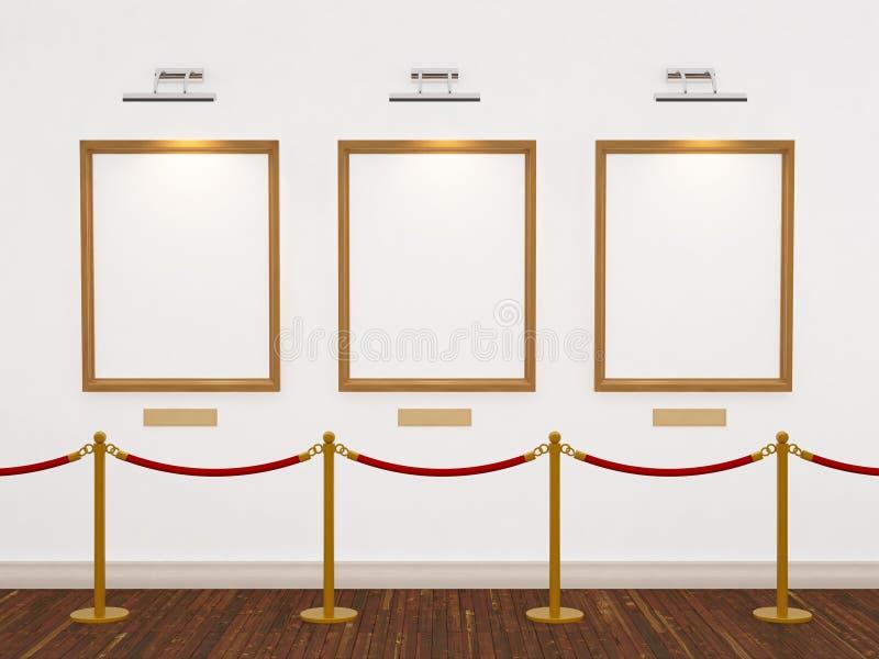 Galleria di arte fotografia stock libera da diritti