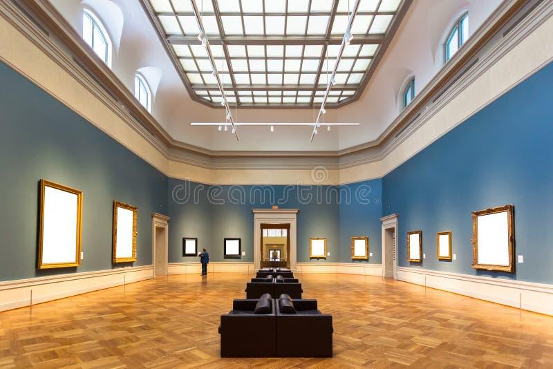 Galleria di arte fotografia stock