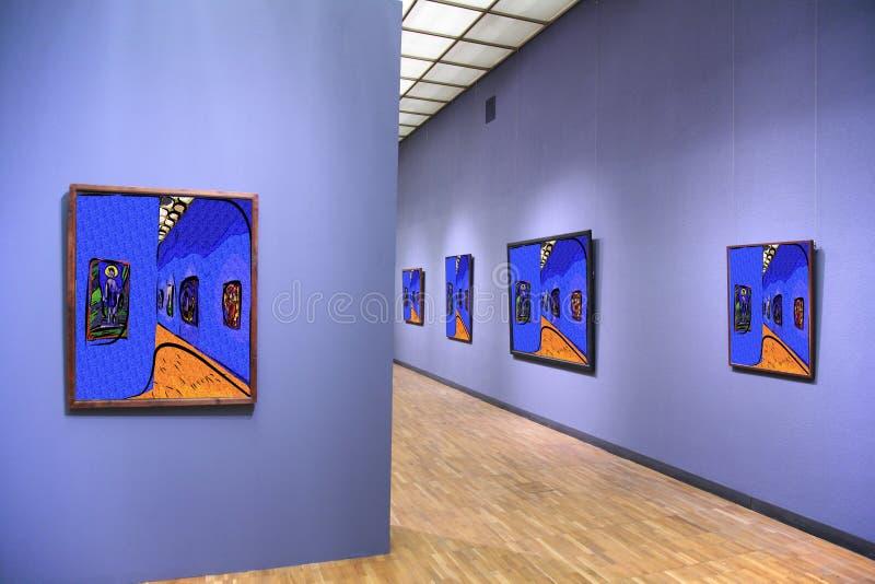 Galleria di arte 4 fotografie stock
