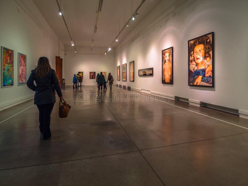 Galleria di arte immagine stock libera da diritti