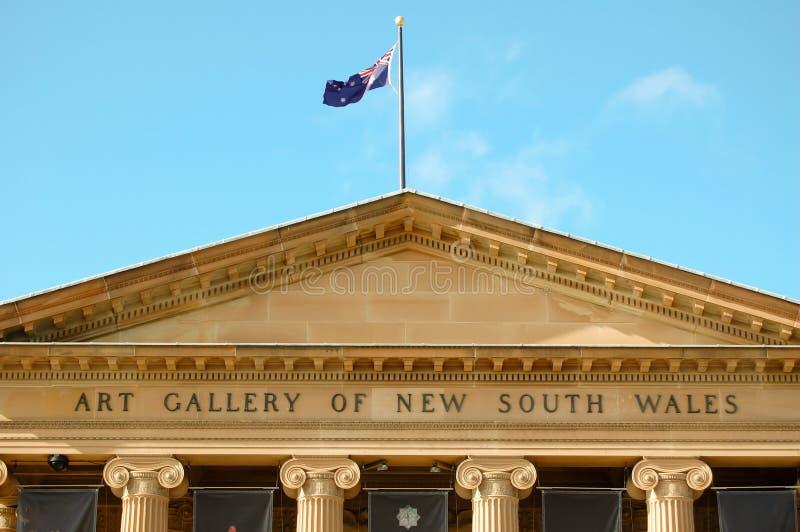 Galleria di arte del Nuovo Galles del Sud immagini stock