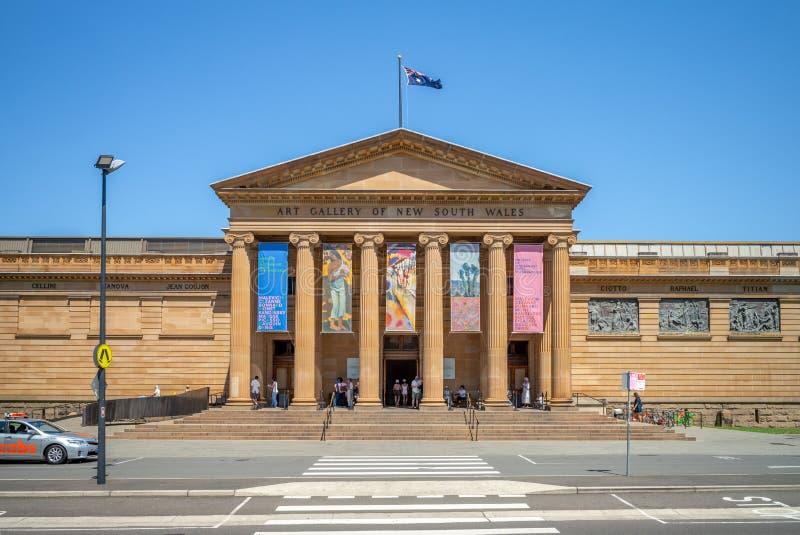 Galleria di arte del Nuovo Galles del Sud a Sydney fotografie stock