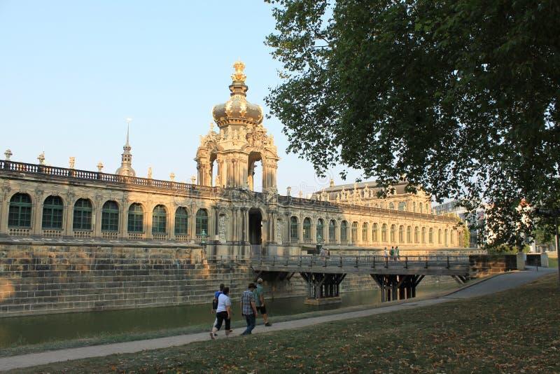 Galleria di arte a Dresda Germania fotografie stock