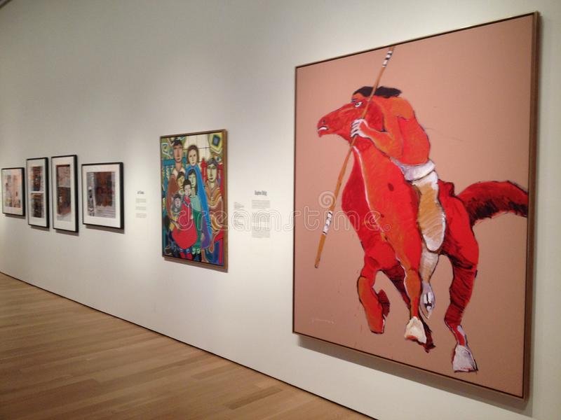 Galleria di arte di Ontario immagini stock libere da diritti