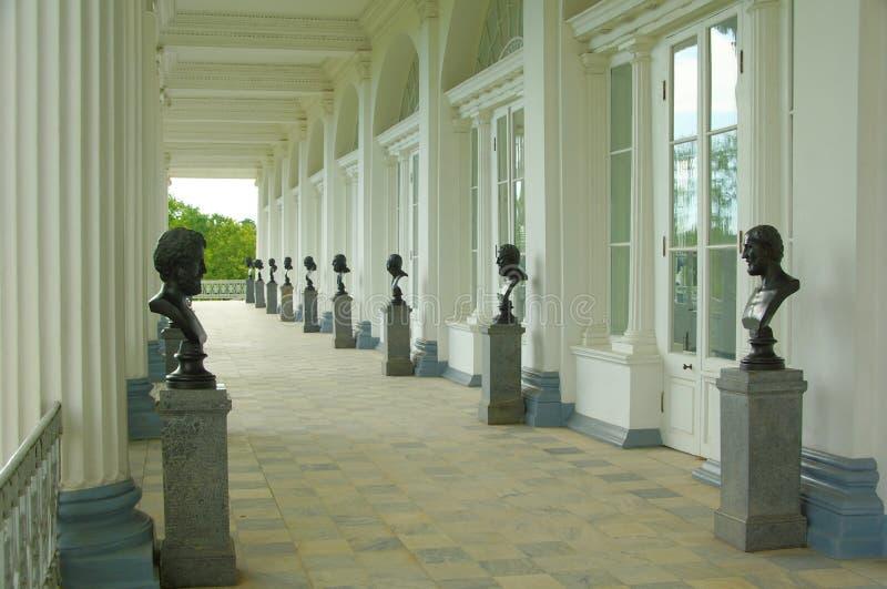 Galleria di Cameron in Tsarskoye Selo fotografia stock