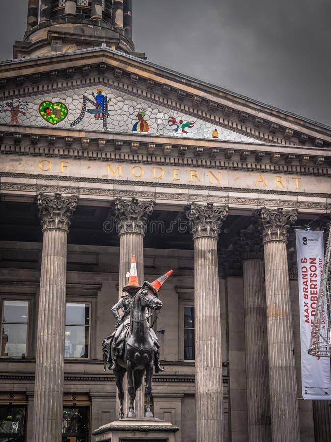 Galleria di Glasgow di arte moderno immagine stock libera da diritti