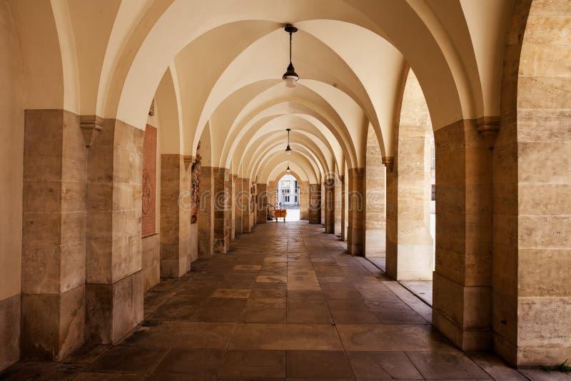 Galleria di Minoritenkirche a Vienna fotografia stock libera da diritti
