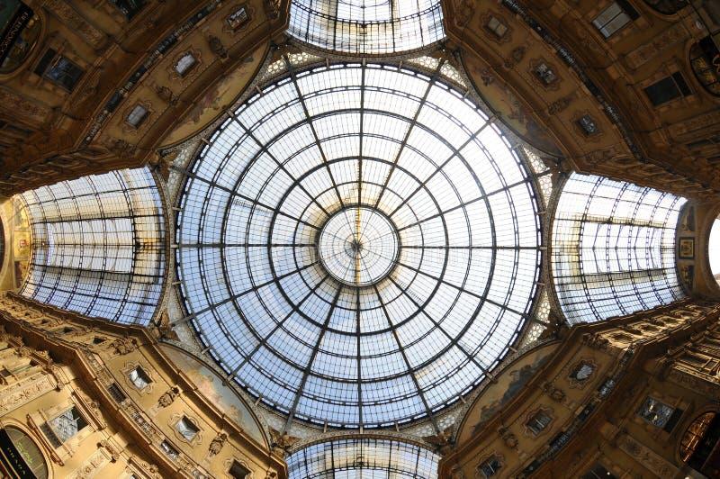 Galleria di vetro immagini stock libere da diritti