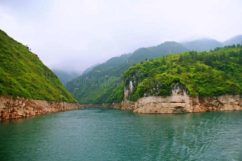 Download Galleria Di Yichang Qingjiang Fotografia Stock - Immagine di yangtze, colore: 117979198