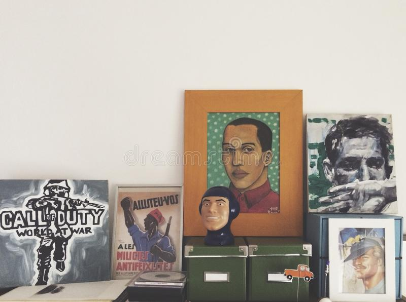 Galleria domestica fotografia stock