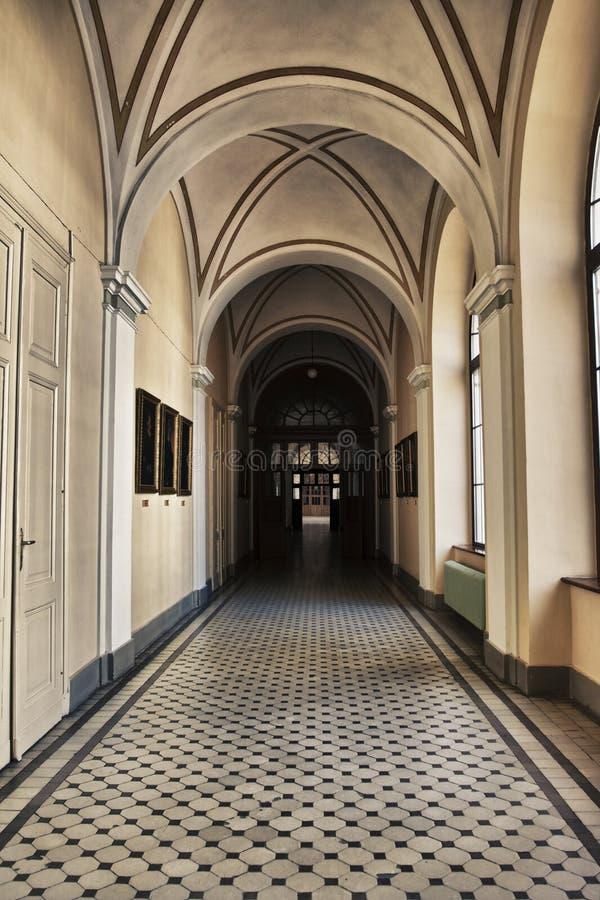 Galleria gotica immagini stock libere da diritti