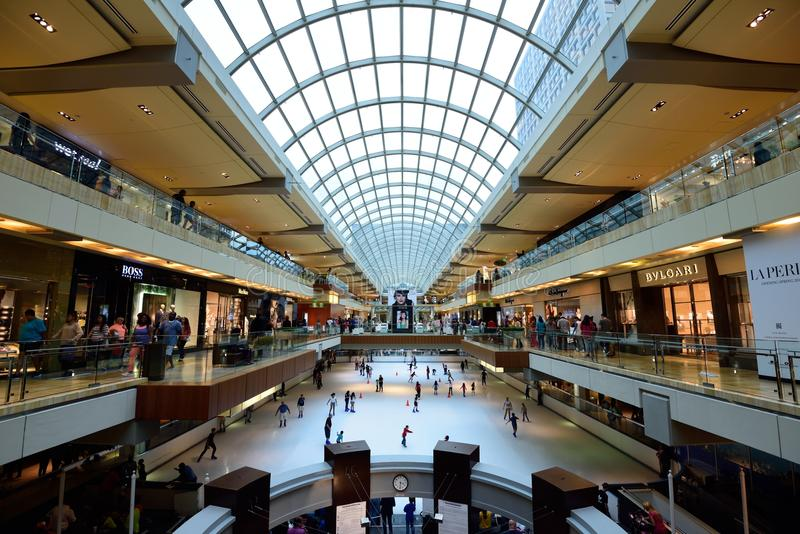 The Galleria, Houston. Duty free shopping at The Galleria Houston royalty free stock photography