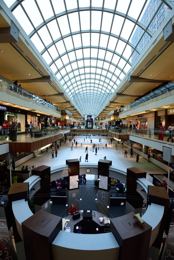 The Galleria, Houston. Duty free shopping at The Galleria Houston royalty free stock image