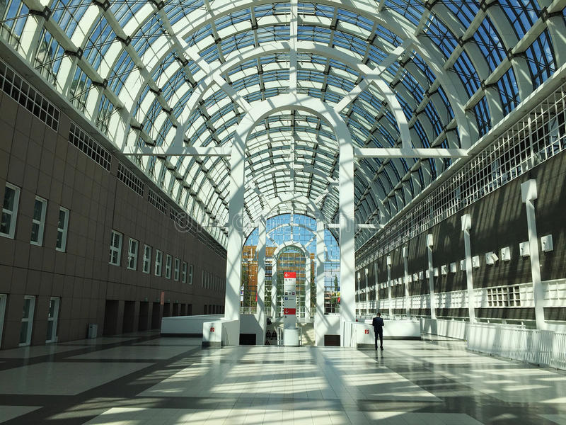 Galleria, Messe Франкфурт стоковое фото rf