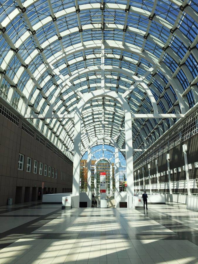 Galleria, Messe Frankfurt stock foto