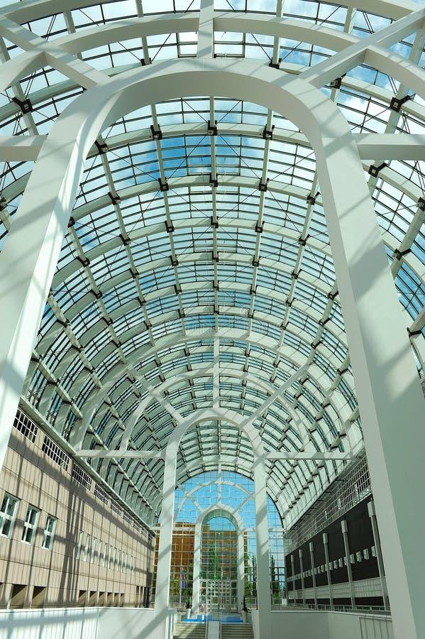 Download Galleria,Messe Frankfurt stock photo. Image of ground - 30991494
