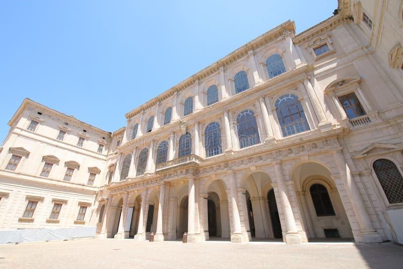 Galleria Nazionale di arte antica nel Palazzo Barberini Roma Italia immagine stock