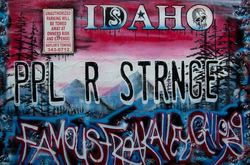 L'Idaho PPL R STRNGE immagini stock