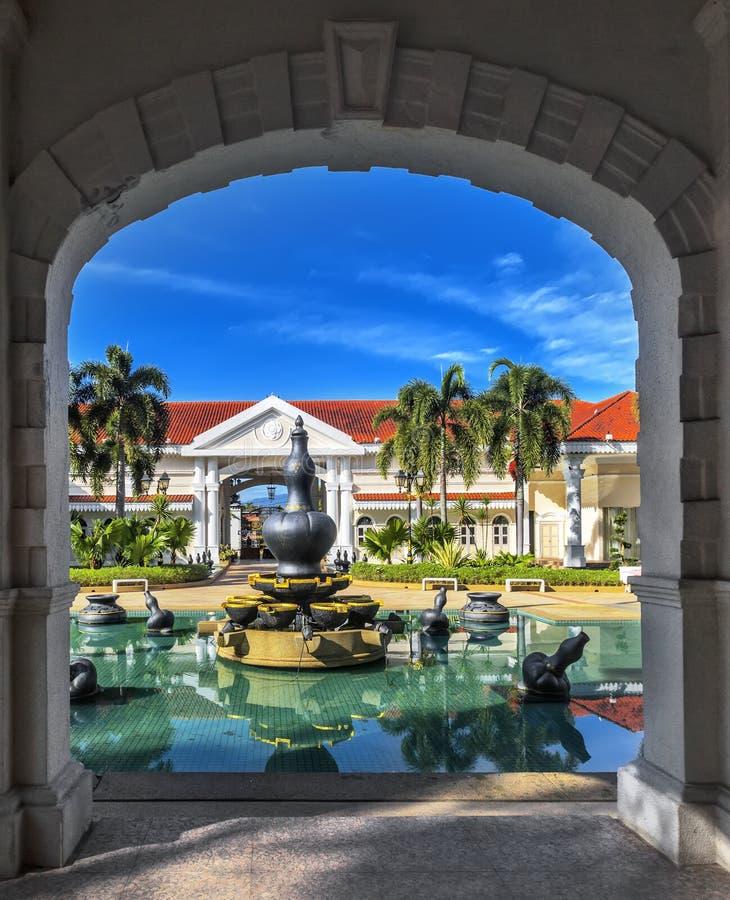 Galleria Sultan Azlan Shah in Kuala Kangsar, Malesia fotografia stock