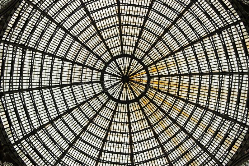 Galleria Umberto I στη Νάπολη στοκ εικόνες