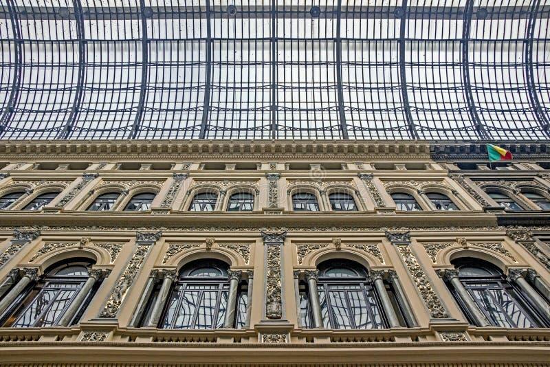 Galleria Umberto I στη Νάπολη στοκ φωτογραφία με δικαίωμα ελεύθερης χρήσης